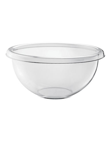 Guzzini Happy Hour Clear 13.75-Inch Salad Bowl-CLEAR-One Size