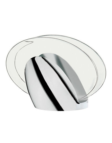 Guzzini Look Chrome Napkin Holder-CLEAR-One Size