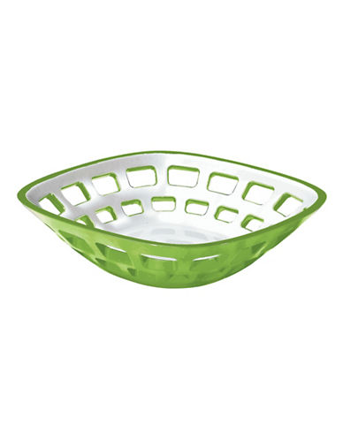 Guzzini Vintage Fruit and Bread Basket-GREEN-One Size