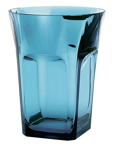 Guzzini Belle Epoque Double Old Fashioned Glasses-BLUE-One Size