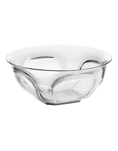 Guzzini Belle Epoque 11.5-Inch Salad Bowl-CLEAR-One Size