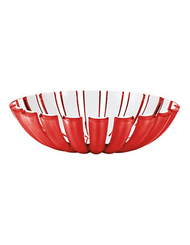 Guzzini Grace Bread Basket-RED-One Size