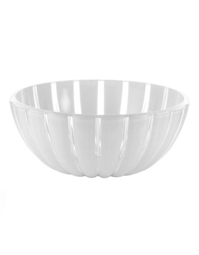 Guzzini Grace 9.75-Inch Salad Bowl-WHITE-One Size