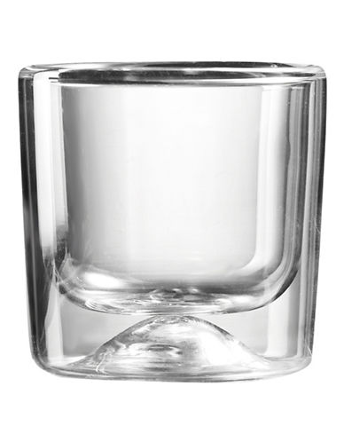 Guzzini Two-Piece Thermal Double Wall Espresso Glasses Set-CLEAR-One Size