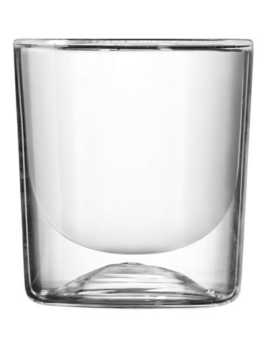 Guzzini Two-Piece Thermal Double Wall Cappuccino Glasses Set-CLEAR-One Size