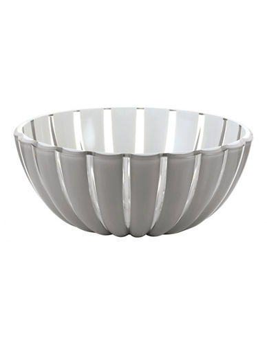 Guzzini Grace 9.75-Inch Salad Bowl-GREY-One Size