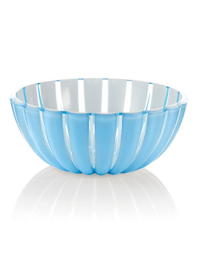 Guzzini Grace 11.75-Inch Salad Bowl-BLUE-One Size