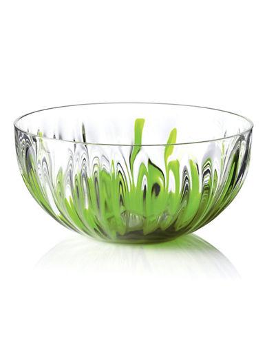 Guzzini Medium Iris Bowl-GREEN-One Size