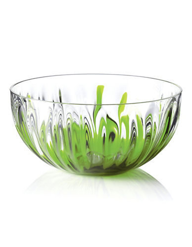Guzzini Large Iris Bowl-GREEN-One Size