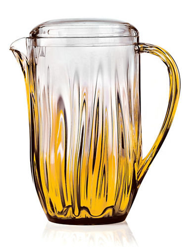 Guzzini Iris Ombre Ripple Pitcher-ORANGE-One Size