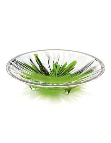 Guzzini Iris Medium Centrepiece Platter-GREEN-One Size