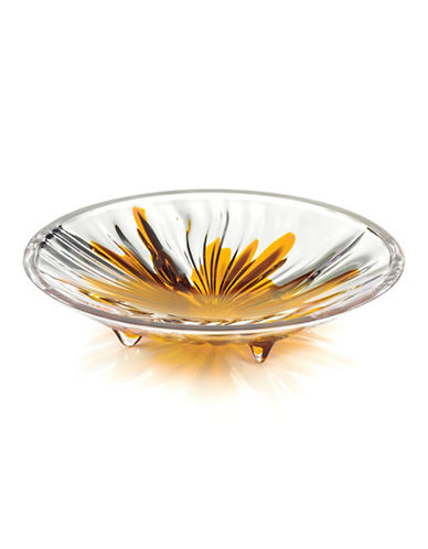 Guzzini Iris Medium Centrepiece Platter-ORANGE-One Size