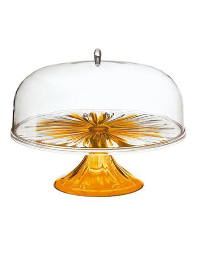 Guzzini Iris Large Cake Dome-ORANGE-One Size
