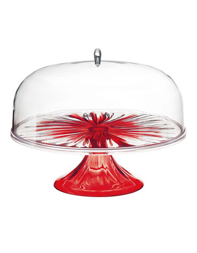 Guzzini Iris Large Cake Dome-RED-One Size
