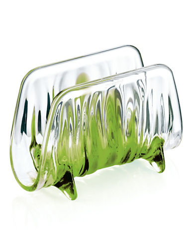 Guzzini Iris Napkin Holder-GREEN-One Size