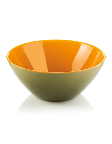 Guzzini My Fusion Bowl-GREEN/SAFFRON-One Size