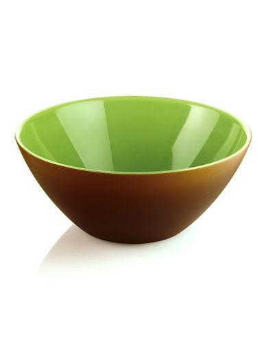 Guzzini My Fusion Bowl-MOCHA/KIWI-One Size