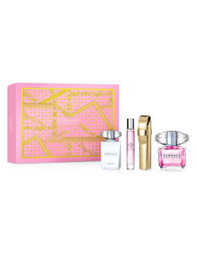 Versace Four-Piece Bright Crystal Set-0-90 ml
