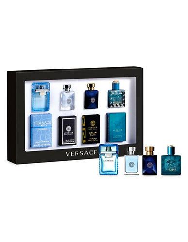 Versace Versace Men Four-Piece Deluxe Fragrance Set-0-One Size