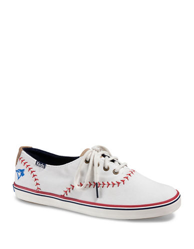 Keds Womens Champion Pennant Sneakers-WHITE-9