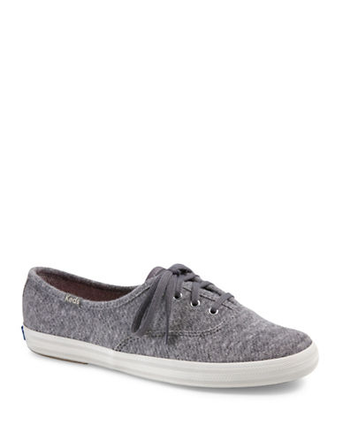 Keds Womens Champion Slip-On Sneakers-GREY-10