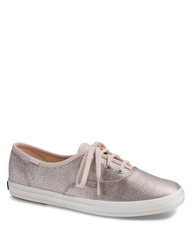 Keds Champion Lace-Up Sneakers-BEIGE-6