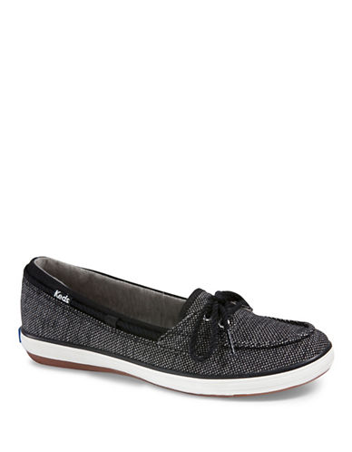 Keds Glimmer Salt and Pepper Sneakers-BLACK-5