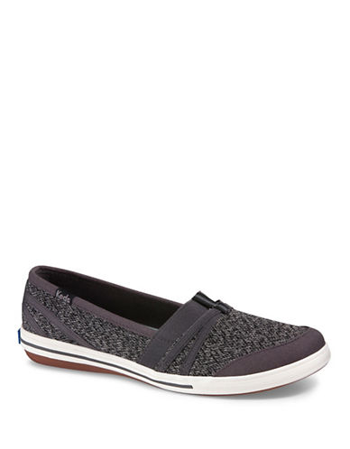 Keds Summer Knit Slip-On Sneakers-GREY-10