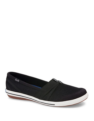 Keds Summer Knit Slip-On Sneakers-BLACK-9