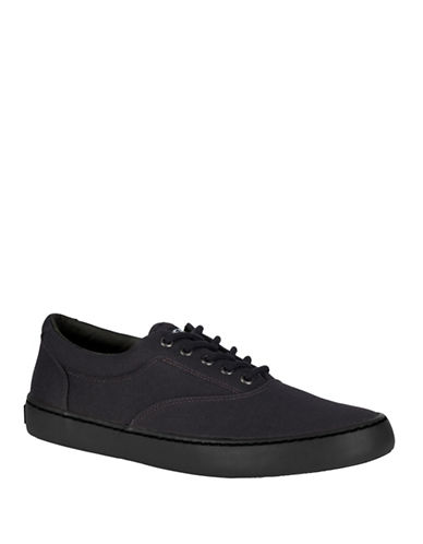 Sperry Cutter CVO Low Top Sneakers-BLACK-8.5