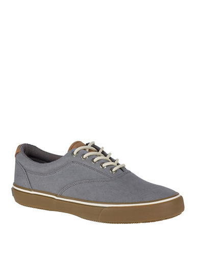 Sperry Textured Top-Sider Sneakers-GREY-12