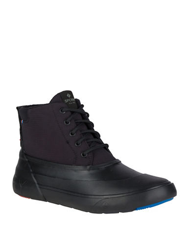 Sperry Cutwater Deck Boots-BLACK-9