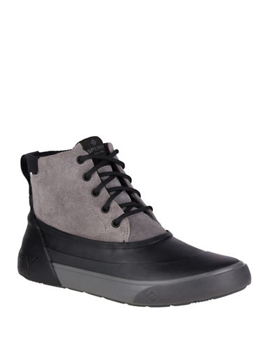 Sperry Cutwater Deck Boots-GREY-9