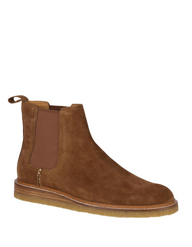 Sperry Crepe Leather Chelsea Boots-BROWN-10