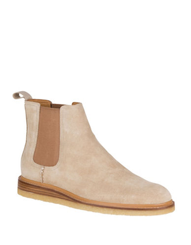 Sperry Crepe Suede Leather Chelsea Boots-BEIGE-10.5
