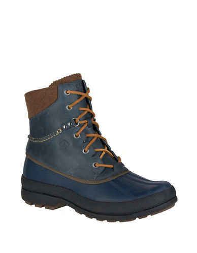 Sperry Cold Bay Waterproof Ice+ Winter Boots-NAVY-8.5