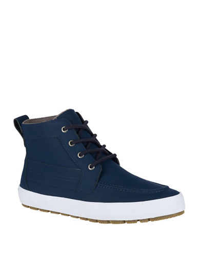 Sperry Cutter Winter Lug Boots-NAVY-10.5