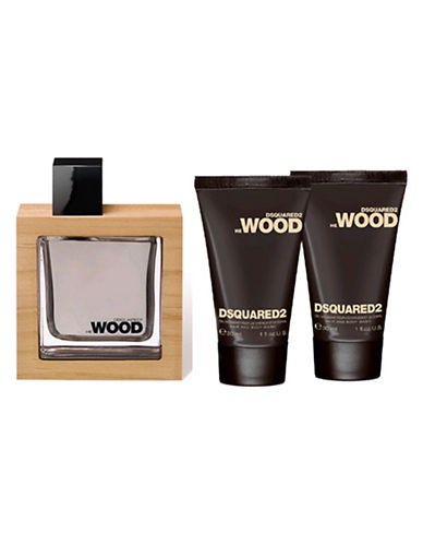 Dsquared2 Wood Three-Piece Set-0-100 ml
