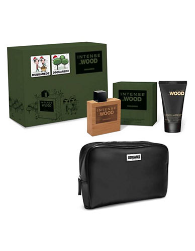 Trussardi Three-Piece Intense Wood Set-NO COLOUR-One Size