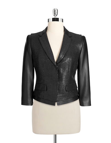 T Tahari Tina Jacket-BLACK-14