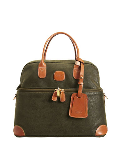 Bric'S Life Tuscan Cosmetic Tote-OLIVE-15
