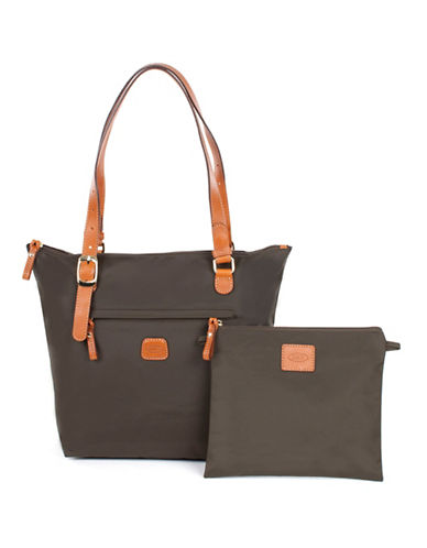 BricS X-Bag Medium Sportina Tote-OLIVE-One Size