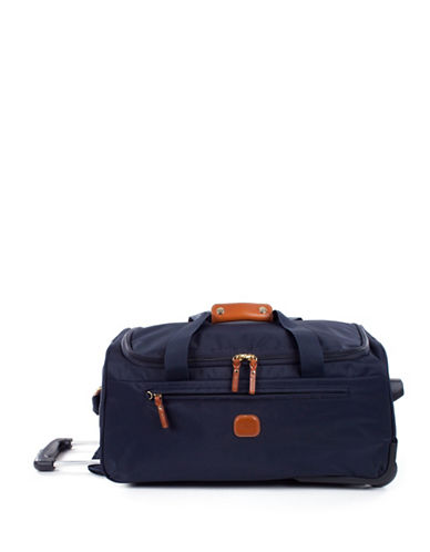 BricS X-Travel 21 Inch Rolling Duffle-NAVY-21