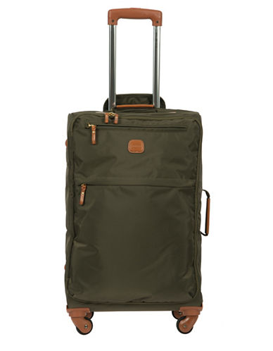 BricS XTravel 25-inch Spinner Suitcase-OLIVE-25