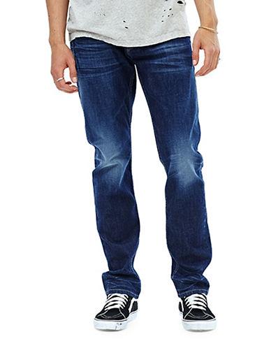 Hudson Jeans Blake Slim Straight Jeans-BLUE-30