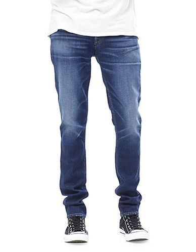 Hudson Jeans Sartor Slouchy Skinny Jeans-BLUE-32