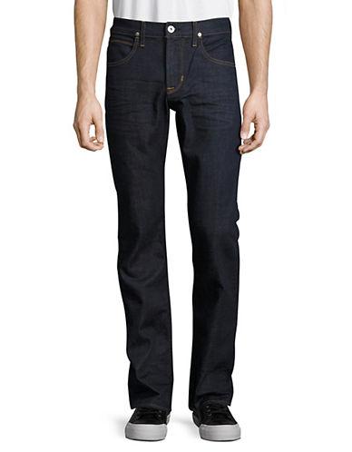 Hudson Jeans Byron Five-Pocket Straight Jeans-BLUE-31