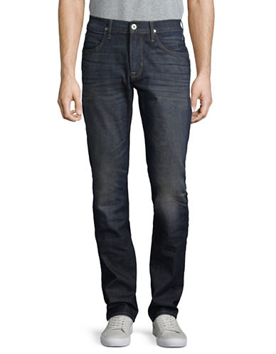 Hudson Jeans Slim-Fit Straight Pants-BLUE-38