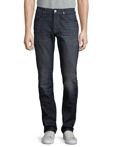 Hudson Jeans Slim-Fit Straight Pants-BLUE-36
