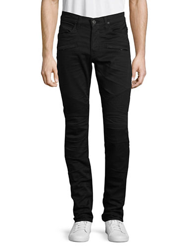 Hudson Jeans Slim-Fit Dark Jeans-BLACK-30